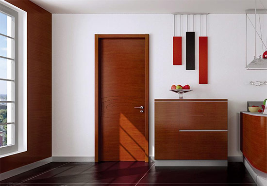 木门与家居颜色的搭配