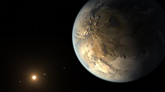 NASA首次在太阳系外发现类地行星 可能存在液态水和生命体(高清组图)