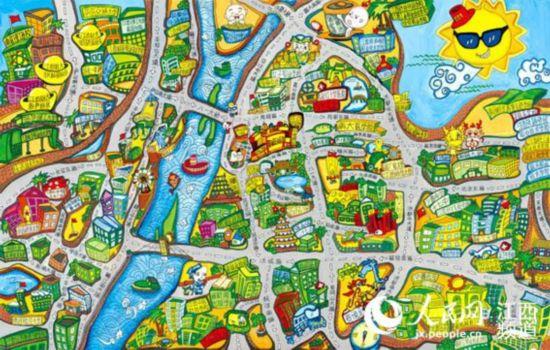 南昌网友手绘地图爆红网络