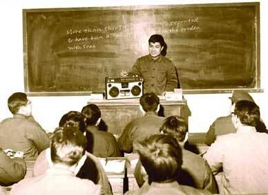 高清老照片 80年代的中国大学校园生活