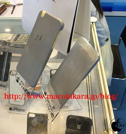 配件厂商展出 疑iPhone6c真机模型现身
