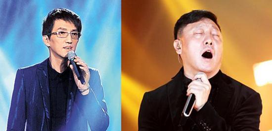 韩磊比林志炫小两岁 同龄男星惊人对比(图)