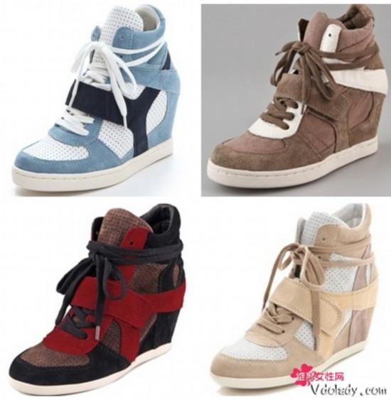 高跟鞋又爱又恨 运动鞋能搭出高挑身材