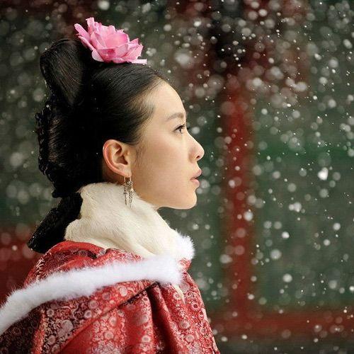 步步惊情刘诗诗 示范唯美古装发型