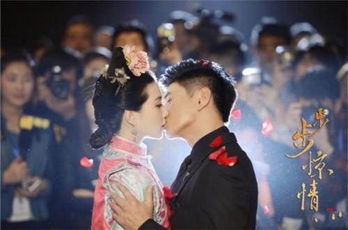 吴奇隆刘诗诗热吻 揭二人甜蜜时刻