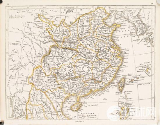 19张外国古地图标注钓鱼岛属中国