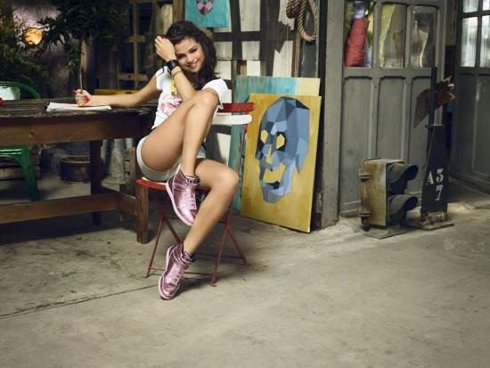 赛琳娜・戈麦斯代言Adidas NEO夏季系列