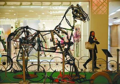 旧物智造展亮相南京 展品由生活废品制成