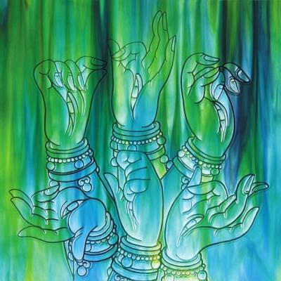 中国当代陶瓷艺术展耀巴黎 洛阳三彩釉画亮相