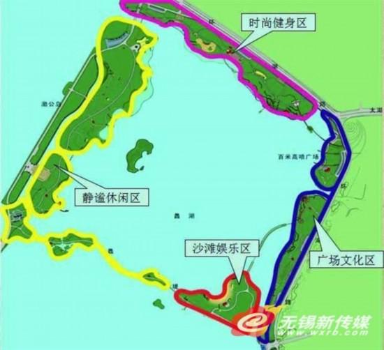 无锡蠡湖打造5.6公里慢游系统 将四大片区开放