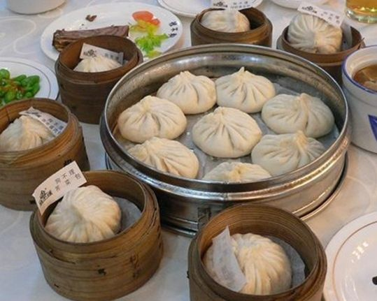 狗不理包子(图片来源:中国日报网)-舌尖上的旅行 盘点各地特色美食