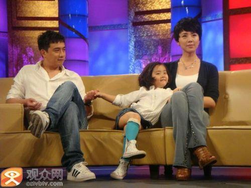 两年后,黄磊与孙莉的女儿黄多多出生.