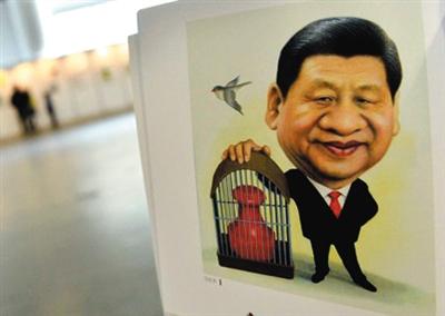 漫画家详解国家领导人卡通形象 画得可爱点图片