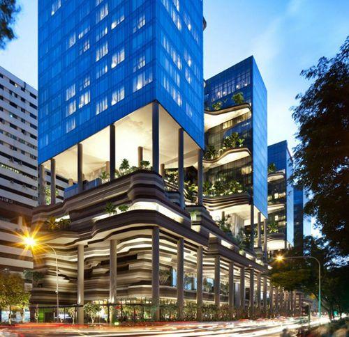 新加坡皇家公园酒店建在繁闹CBD中的画册设计余姚图片