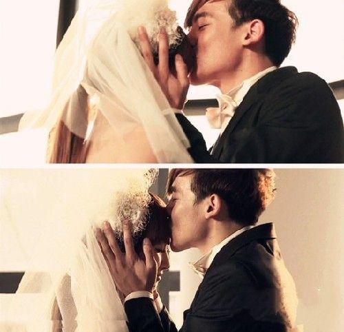李敏镐朴信惠 盘点最甜蜜的额头之吻