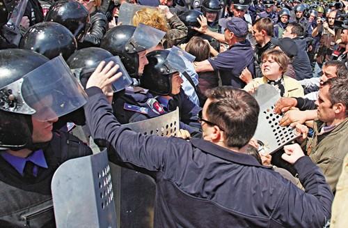 乌克兰经历最血腥一日临时政府宣布哀悼2天