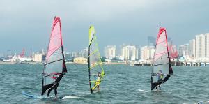 海南:海上运动日趋平民化