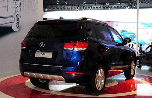 川汽野马SUV定名T70 年底上市 或售10万高清图片