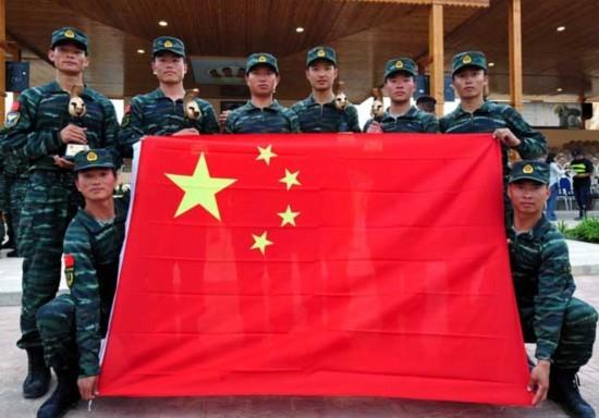国际特种兵大赛中国包揽冠亚军