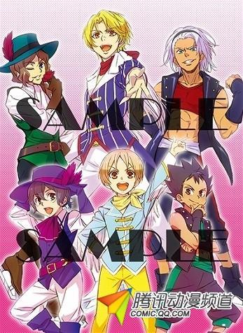 TV动画《美妙旋律3》推出男主角DVD封面