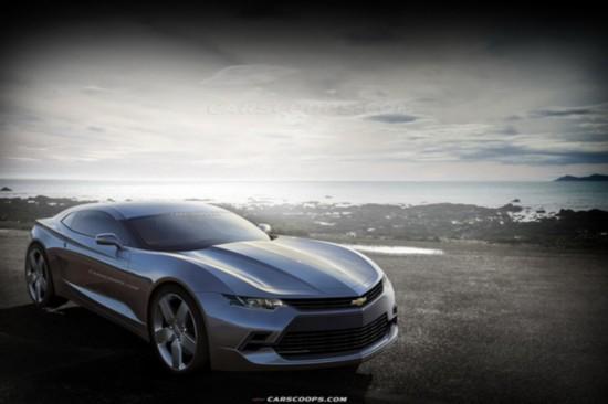 全新科迈罗最新假想图 搭载2.0T发动机