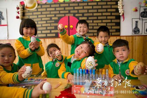 盐城一幼儿园举行迎立夏传统风俗主题特色活动