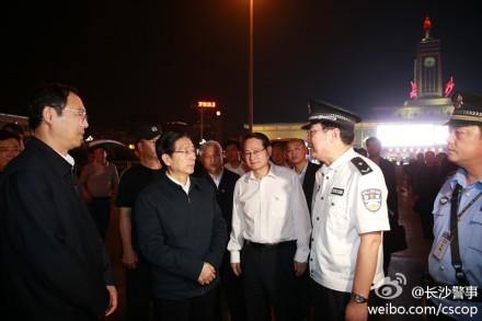公安部正副3名部长分赴长沙等3地火车站检查