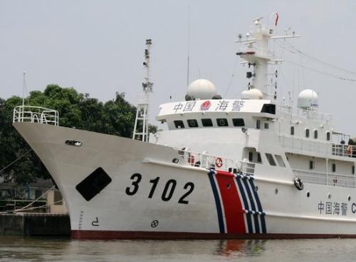资料图:中国海警3102船