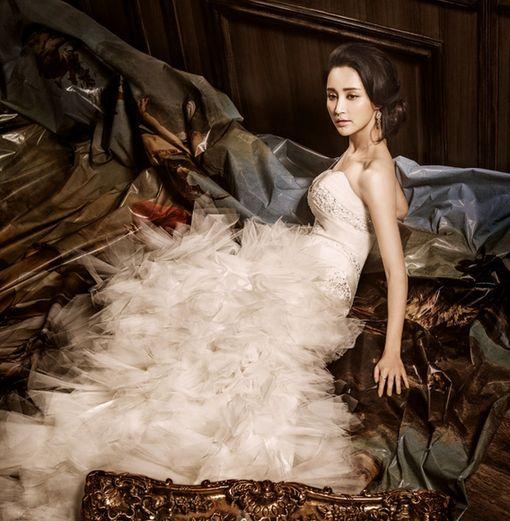 纹身美女婚纱照欧美分享展示图片