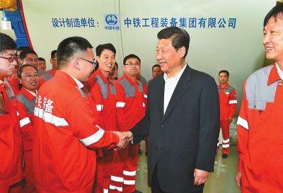 习总在兰考的讲话稿_组图:习近平总书记在河南--陕西频道--人民网