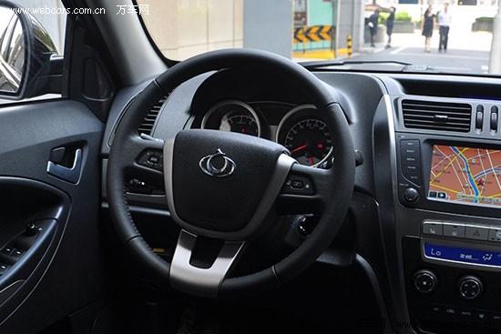 【吉利全球鹰GX7内饰】-向国产大众化看齐 四款自主品牌SUV推荐高清图片