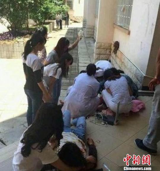 云南大学女生宿舍发生砍人事件 2名女生受伤 图