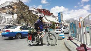 徐州小伙25天骑完川藏线 总行程2142公里