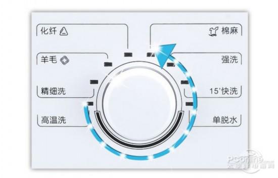 格兰仕XQG60-A708   格兰仕XQG60-A708滚筒洗衣机提供了化纤、羊毛、棉麻、强洗、精细洗、15分钟快洗、高温洗以及单脱水八项功能,基本涵盖了用户常用的洗涤功能,经过国际认证的羊毛洗程序一般其他品牌只在自己的中高端洗衣机上会出现。。格兰仕XQG60-A708滚筒洗衣机提供了化纤、羊毛、棉麻、强洗、精细洗、15分钟快洗、高温洗以及单脱水八项功能。