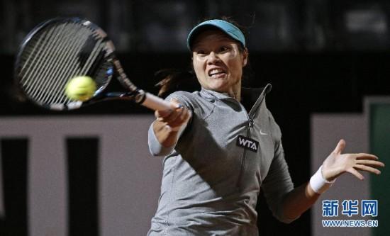 (体育)(1)网球――罗马赛:李娜晋级