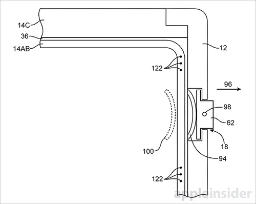 苹果新专利 iPhone屏幕可拓展至旁边面