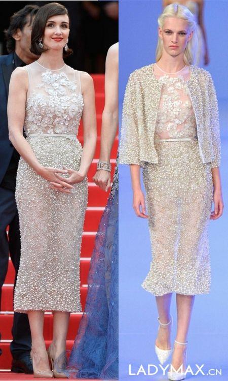 2014戛纳电影节开幕式红毯秀 谁的礼服造型你更爱?