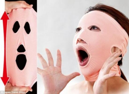 日本奇葩美容工具 香肠嘴可瘦脸