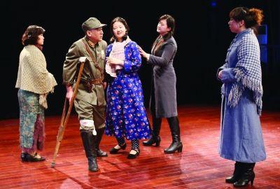 历史话剧《沦陷》南京开排 演员均是残疾人