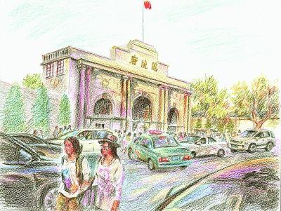 """南京总统府前身为""""总督署"""" 已有160多年历史"""