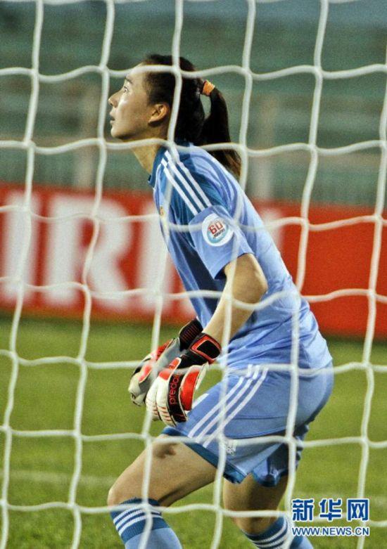 女足亚洲杯:中国平韩国