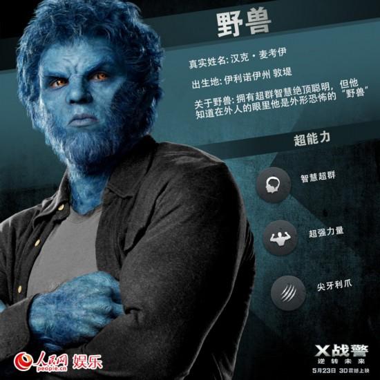 《X战警》8个变种人特辑曝光 预热523零点首