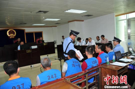 广东茂名96名学生吸入有毒气体中毒案开庭