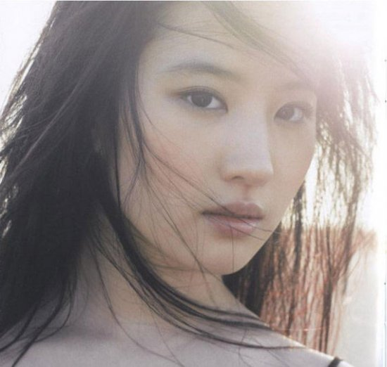刘诗诗林盈臻林允儿盘点那些清新美女 当红明