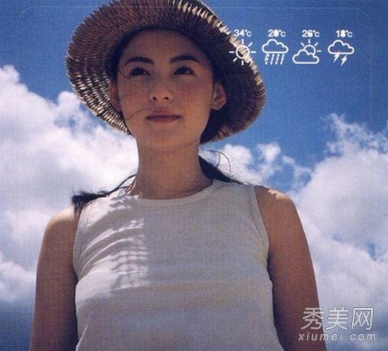 张柏芝19岁清纯照美翻天被赞无死角美女(图)义乌山美女驾义图片