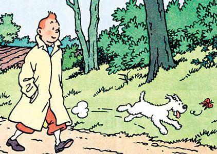 《丁丁历险记》手绘插图拍出250万欧元高价