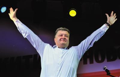 波罗申科宣布参加乌克兰下届总统竞选