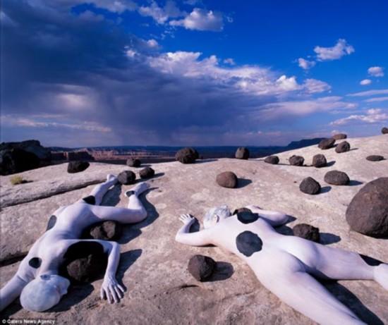 绝美人体摄影 人体艺术与自然的完美融合 - 弯弯月儿 - wanwanyueer