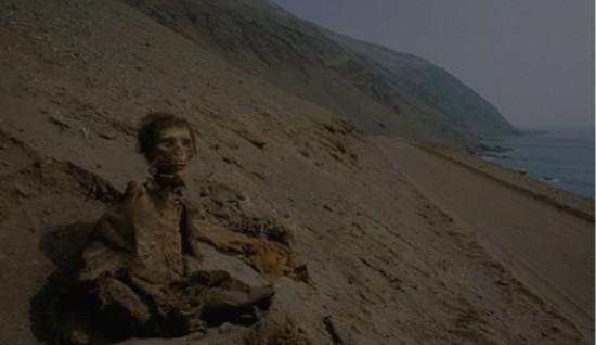 图为此前曾在智利发现的新克罗文化的木乃伊。