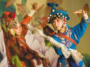 """""""六一""""儿童节来临 南京小学生奉上京剧大戏"""